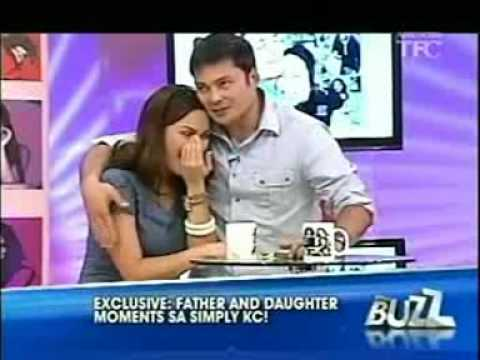 simply kc concepcion with papa gabby