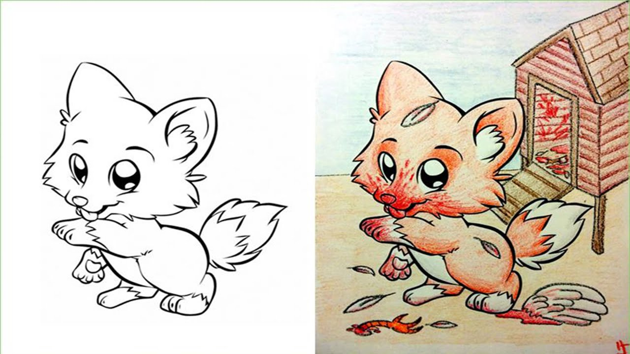 Top 10 Disturbing Coloring Book Corruptions