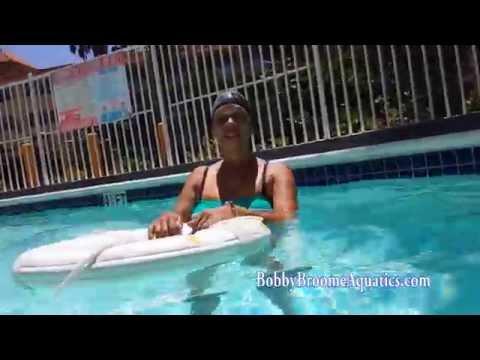 BBA Swim School Tiffany's 1st two lessons 1