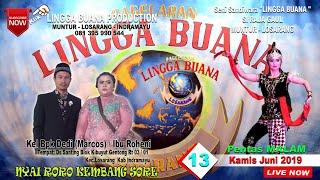 Gambar cover LIVE STREAMING SANDIWARA LINGGA BUANA Santing, Kamis 13 Juni 2019  PENTAS MALAM