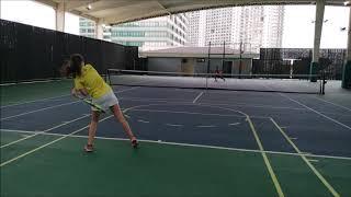Anna tennis training highlights, September