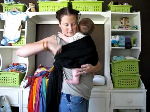 Paxbaby Double Backwards Ring Sling Instructions Youtube