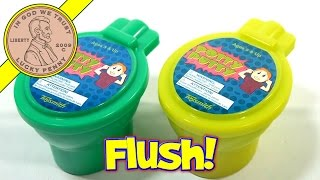 potty putty green putty in a toilet bowl toysmith