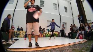 FERGIE VS PAULA BGIRL BATTLE HIP HOP CULTURA CCR 2016