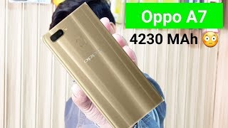 Oppo A7 Official Specifications / Price