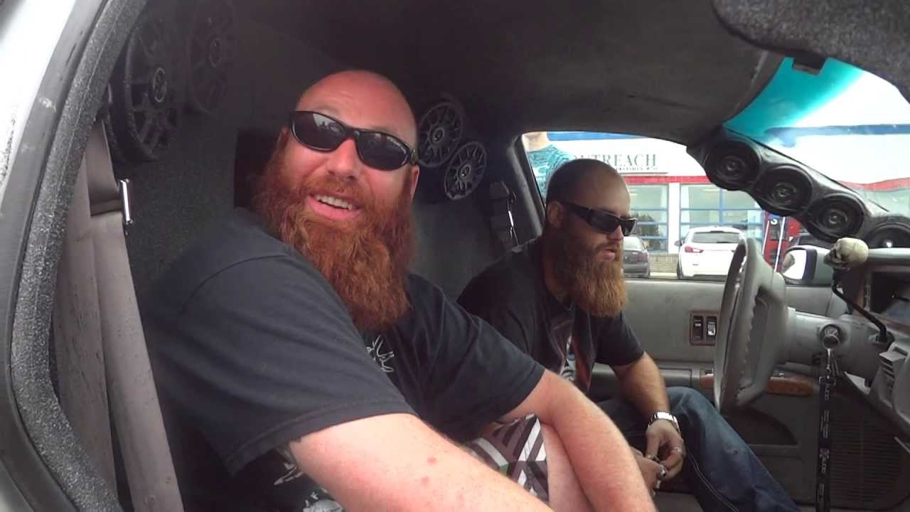 2 Beards 1 Car Extreme Beard Tricks Youtube