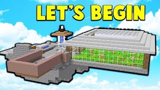 LET'S GET STARTED!  | SKYBLOCK #1