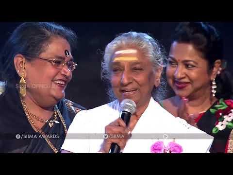 S Janaki about South Indian Top ActressSIIMA Awards 2016