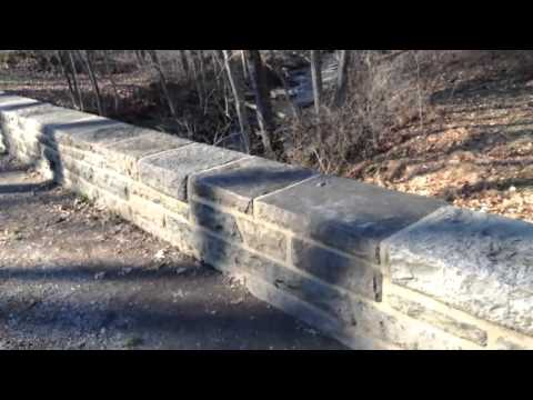 Dinosaur footprints at Gettysburg