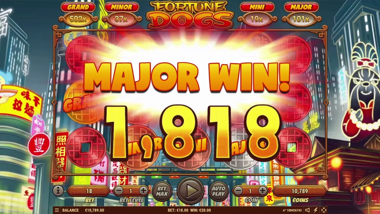 Fortune Dogs - Habanero Video Slot - YouTube