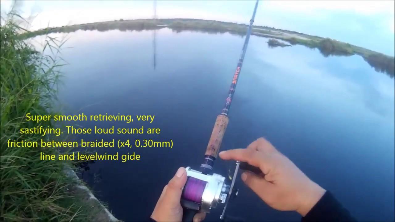 bad3cecdcf5 SHIMANO CALCUTTA 400 JDM field test - YouTube