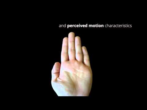 Perception of Ultrasonic Haptic Feedback on the Hand: Localisation and Apparent Motion