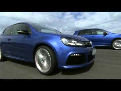 Volkswagen UK New Cars Golf GTI GTD R Explore Gallery Golf R driving