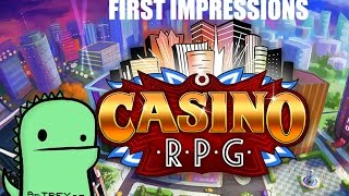 CasinoRPG gameplay first impressions - browser MMORPG/Gambling game