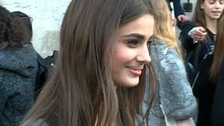 Taylor MARIE HILL @ Paris Fashion Week 5 march 2015 show Barbara Bui