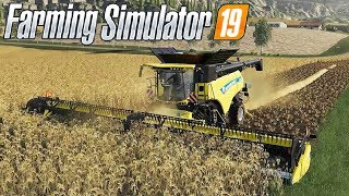 FARMING SIMULATOR 19 #94 - NUOVA MIETITREBBIA NEW HOLLAND CR 10.90 - GAMEPLAY ITA