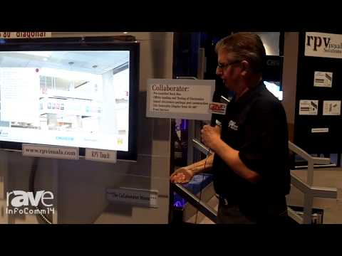 InfoComm 2014: rp Visual Shows Off Its Collaborator Mount