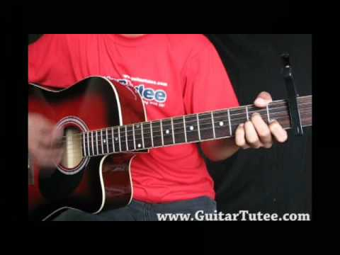 Kanye West Ft T Pain Heartless By Guitartutee Youtube