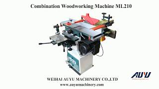 COMBINED AND MULTI-USE WOODWORKING MACHINE ML210/ML392