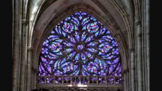 Saint-Saens - Hymne à Victor Hugo - Organ at St Ouen, Rouen - Gerard Brooks