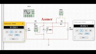 #03 : How to use Dependent Current Source in Multisim