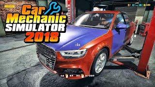 修车模拟器2018 为了赚钱疯狂维修报废车辆 (Car Mechanic Simulator 2018)