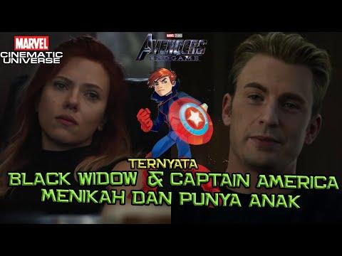 Captain America & Black Widow Ternyata Menikah Dan Punya Anak | Avengers Endgame Theory