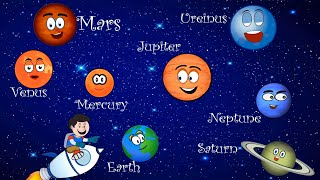 The Planet Song | The Solar System Song with Lyrics | Nursery Rhymes for Kids