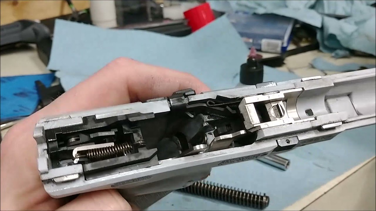 Canik TP9 SFX 1000 Round Disassembly and Cleaning: My Young Apprentice Debut!