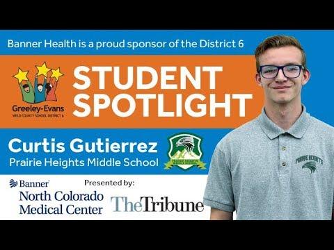 Student Spotlight: Curtis Gutierrez