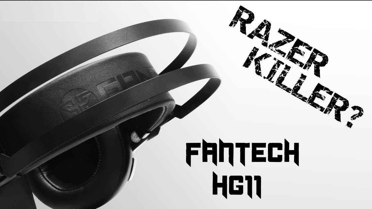 Razer Killer? | Fantech HG11 7.1 Headset Review