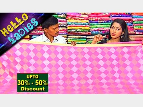 Latest Collections of Pashmina Silk and Munga Kota Sarees|| Hello Ladies || Vanitha TV