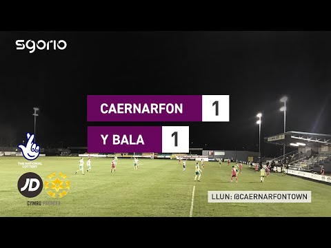 Caernarfon Bala Town Goals And Highlights