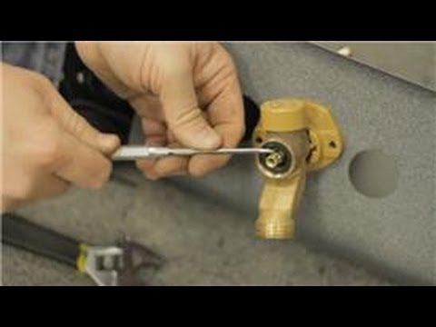 Fixing Faucets How To Repair A Leak In A Frost Proof Water Faucet Youtube
