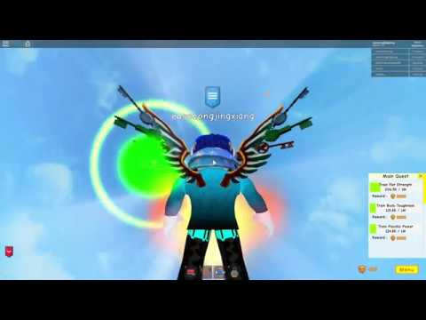 ALL THE AREAS IN SUPER POWER TRAINING SIMULATOR! - YouTube