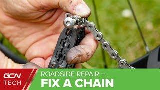 How To Fix A Br๐ken Bike Chain | Jon's Easy Roadside Repairs