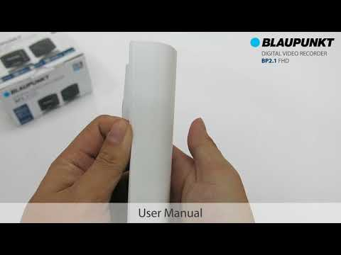 Blaupunkt Driving Video Recorder BP2.1 FHD - Unboxing