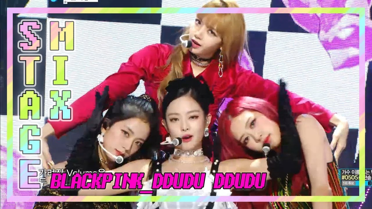 Download 【TVPP】 BLACKPINK - 'DDUDU-DDUDU' 교차편집(Stage Mix) 60FPS!