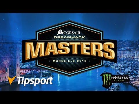 Cloud9 vs FaZe Clan @ DreamHack Masters Marseille 2018 Groups MAP 2
