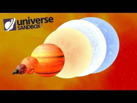 Making Orcus A Star, Universe Sandbox ²