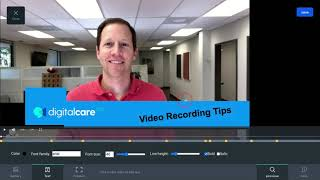 Adding Text to Video with digitalcare100
