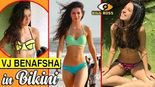 VJ Benafsha HOT BIKINI Pictures | Bigg Boss 11