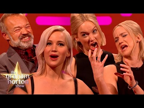 THE HUNGER GRAHAMS | Jennifer Lawrence's Best Moments on The Graham Norton Show