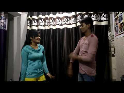 Romantic bhojpuri  dance