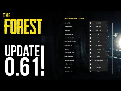 NEW UPDATE! New Main Menu, Chainsaw Balancing & Game Polish! The Forest