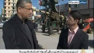 مصراته: مراسل الجزيره فى  لقاء مع فتحي باشاغا -- 18/02/2012