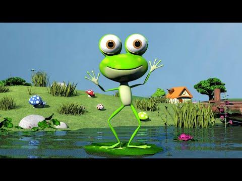 Мультфильм про зеленую лягушку