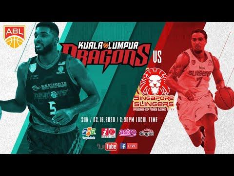 Kuala Lumpur Dragon v Singapore Slingers | FULL GAME | 2019-2020 ASEAN Basketball League