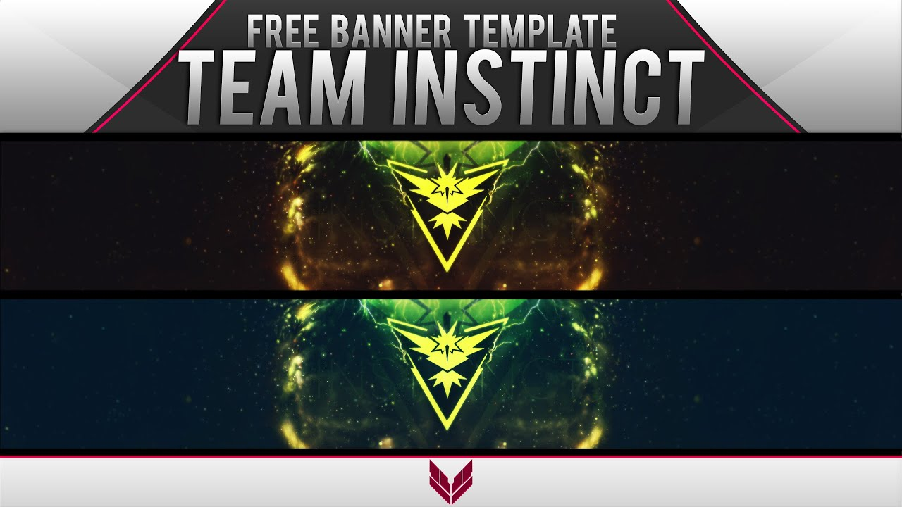 Team Pokemon Banners Vertical Scroll Banners
