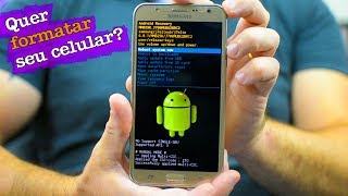 Como formatar celular Samsung Galaxy J1, J2, J3, J5, J7, hard reset, desbloquear, restaurar